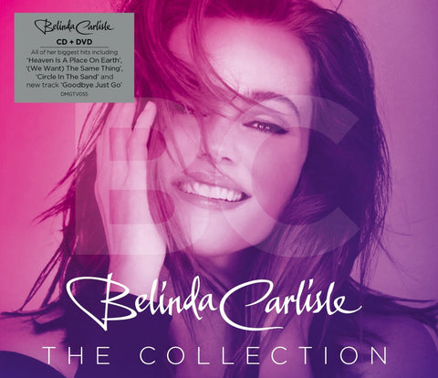Belinda Carlisle  - The Collection CD / DVD ft: 18 Music videos.