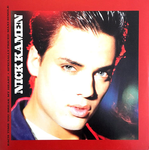 Nick Kamen - Each Time Your Break My Heart (REMIX EP) CD single - Dj service
