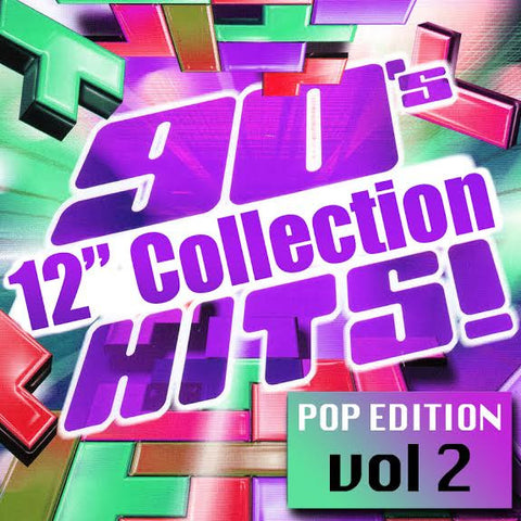 90's 12 inch Collection vol.2 (Various) CD  (Bette, Taylor dayne, M People, Expose, Abdul and more
