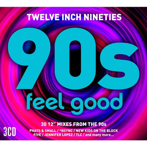 Twelve Inch 90s: Feel Good 3CD set (Import) NEW