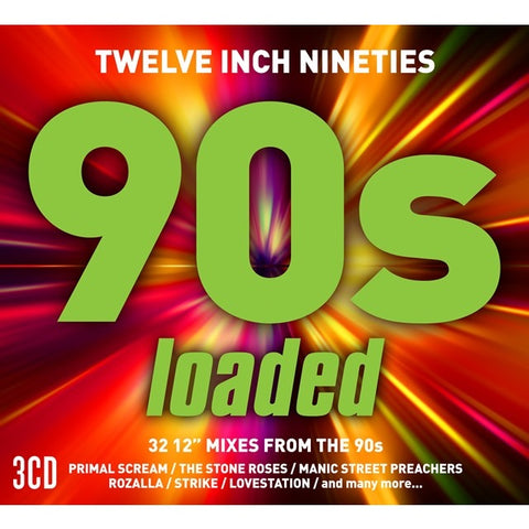Twelve Inch 90s: 'Loaded' 3 CD set (Import) -New