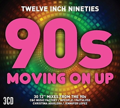 "90s ""Moving On Up"" 3 CD Import Remix Collection"