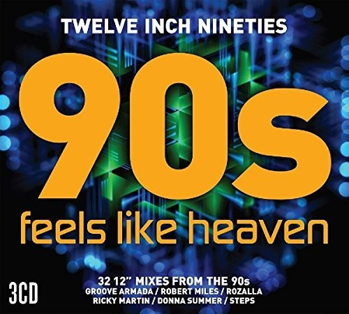 "90s Feels Like Heaven - 3 CD Import REMIX 12"" collection"
