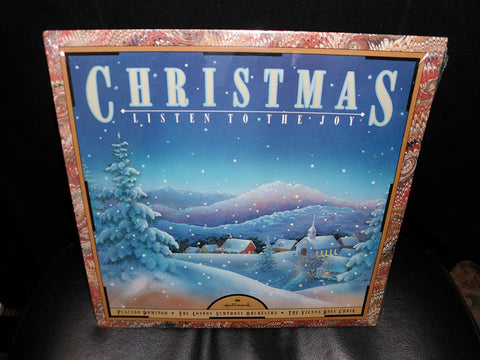 Christmas - LISTEN TO THE JOY (1986) LP vinyl - Used