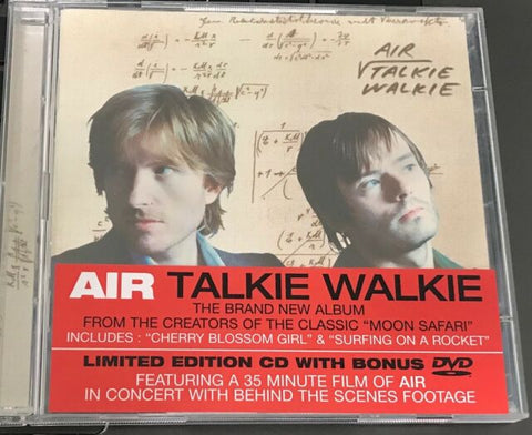 Air -Talkie Walkie [Limited Edition CD with Bonus DVD]  Used