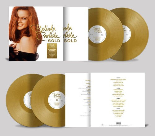 "Belinda Carlisle - GOLD 2xLP Limited Edition ""GOLD"" Vinyl"