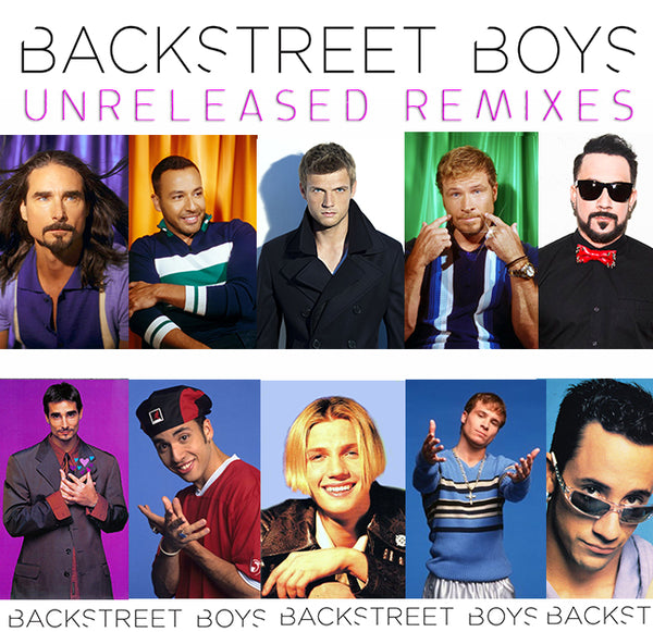 Backstreet Boys - Unreleased Remixes CD (DJ series)