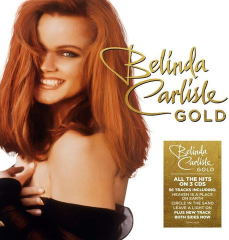 Belinda Carlisle - GOLD (3 CD set) Import New  Complete Best Of Hits / SALE