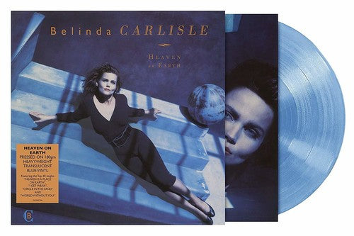 Belinda Carlisle - Heaven On Earth (BLUE Colored Vinyl) Import UK Limited LP Record