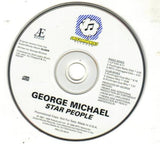 George Michael - Star People PROMO Remix CD single