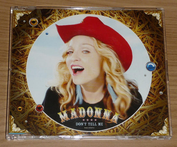 Madonna - Don't Tell Me (IMPORT CD2 single) Used
