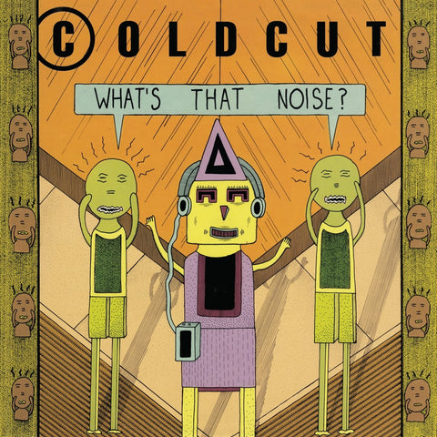 Coldcut - What's That Noise? LP VINYL _ used like new