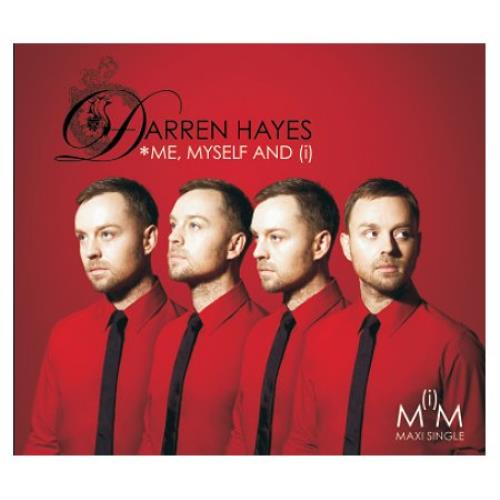 Darren Hayes - Me, Myself and (i) - Import CD Maxi Single