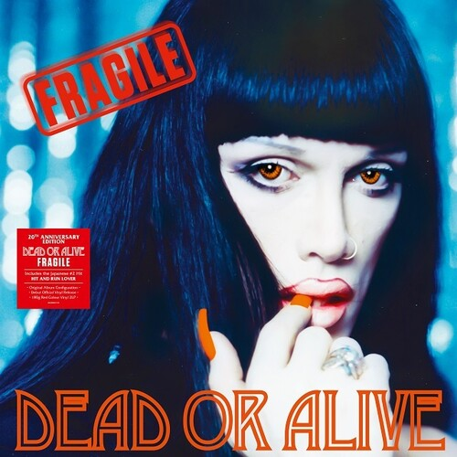 DEAD OR ALIVE - Fragile: 20th Anniversary Edition [180-Gram Red Colored Vinyl] Import