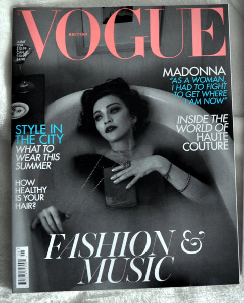 Madonna 2 magazines 2019: VOGUE & Vanity Fair