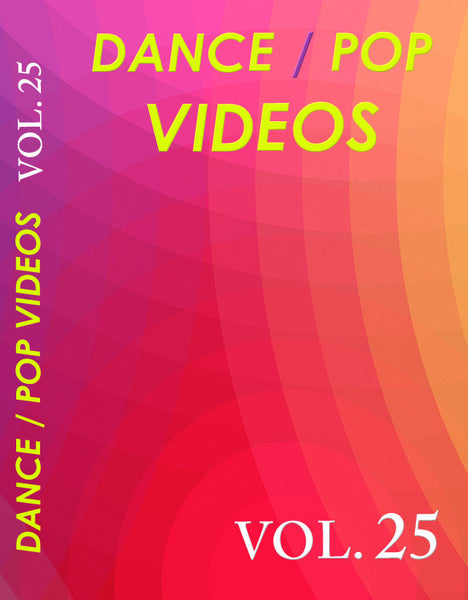 Dance Videos vol. 25  (DV25) 29 Music videos