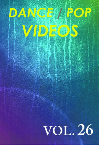 Dance Pop Videos vol. 26  DVD (NTSC)