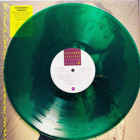 Belinda Carlisle - Runaway Horses (Translucent Green Colored Vinyl, UK - Import)  LP  Record