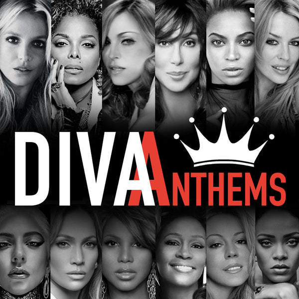 Diva Anthems - REMIX CD (Various) DJ series