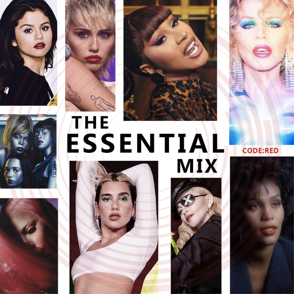 The Essential Mix CODE: RED (Various Artist) Continuously Mixed CD