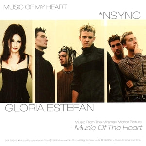 *Nsync ft: Glora Estefan - Music Of My Heart CD single