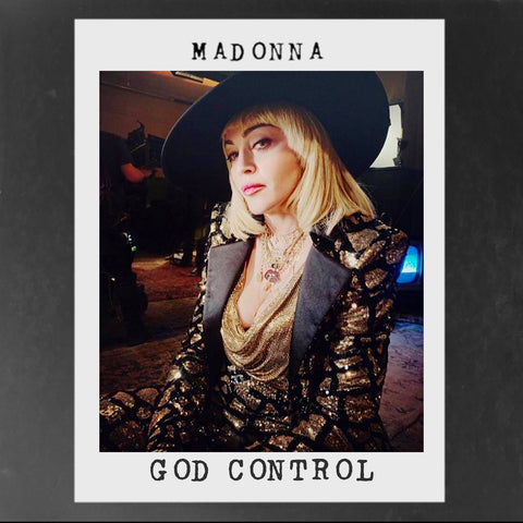 Madonna - God Control (The Remixes) DJ CD single