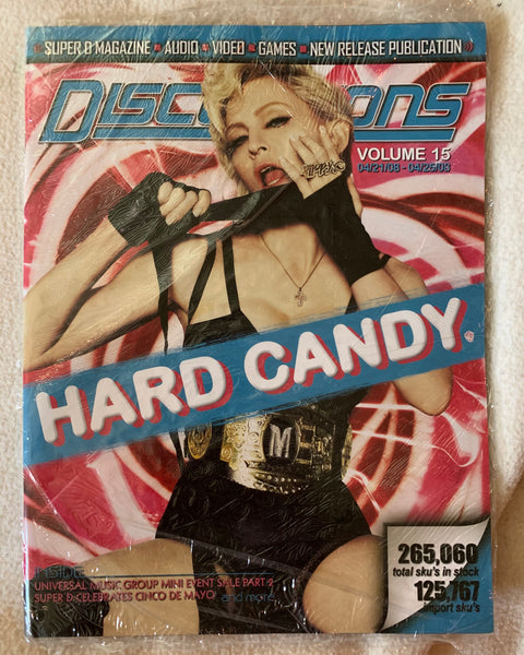 Madonna - Discussions Music catalog magazine