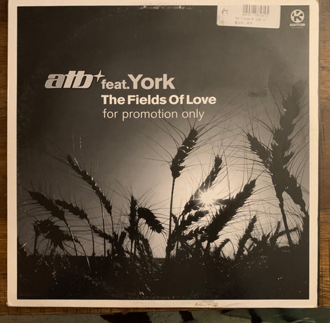 "ATB ft: York - The Fields Of Love (Promo 12"" Vinyl) - Used"