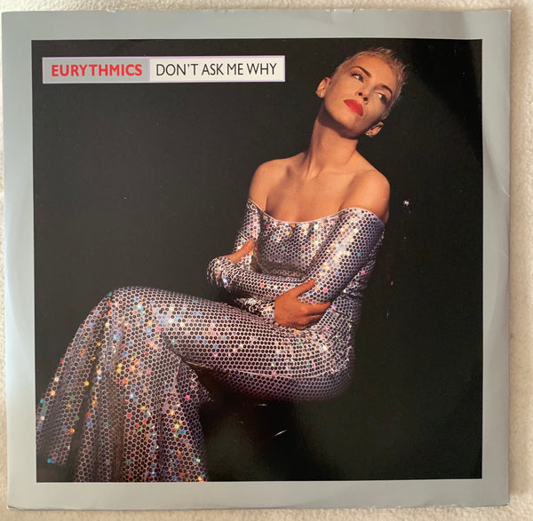 "Eurythmics - Don't Ask Me Why UK   12"" LP Vinyl - Used"