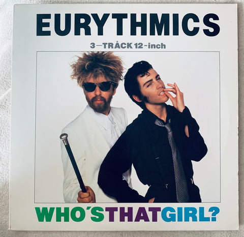 "Eurythmics - Who's That Girl?  12"" LP Vinyl - Used"