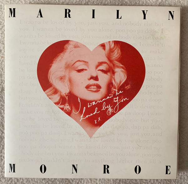 "Marilyn Monroe - 7"" vinyl (1978 45 record) Limited Edition -Used"