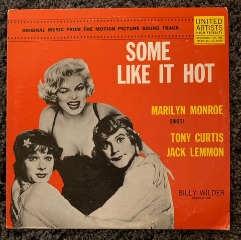 Marilyn Monroe - SOME LIKE IT HOT LP Soundtrack - Vinyl - Used