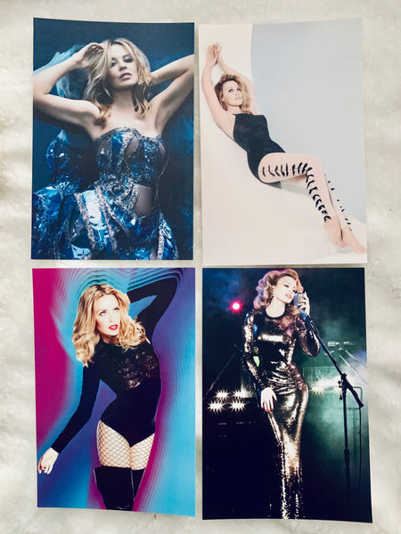 Kylie Minogue - Lot of 4 postcards