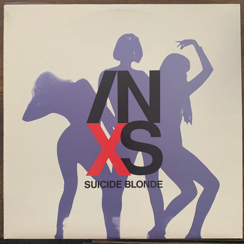 "INXS - Suicide Blonde 12"" LP VINYL - Used"