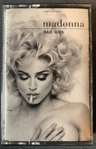 Madonna - Bad Girl / Fever US maxi cassette single - Used