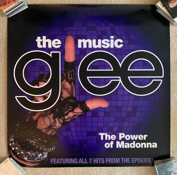 Glee / MADONNA : Official promotional Print/poster 3x3ft
