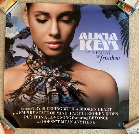 Alicia Keys- Promotional LARGE Print/poster  3x3ft!