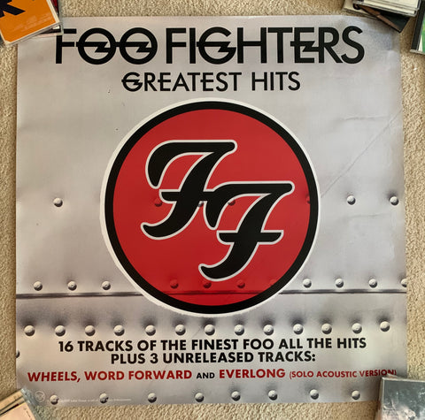 Foo Fighters - Official Promotional Large glossy print/poster 3x3 ft -
