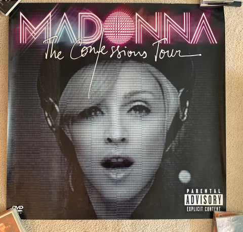 Madonna - The Confession Tour official Promotional print/poster 3x3 ft