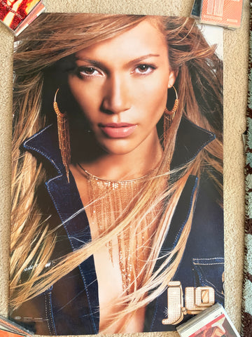 J.lo - Jennifer Lopez - Official Promotional Poster Large