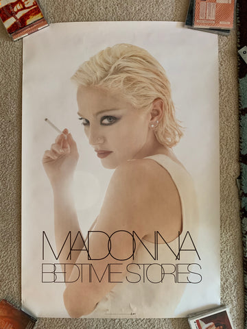 Madonna - Bedtime Stories Official promotional Poster 24x36