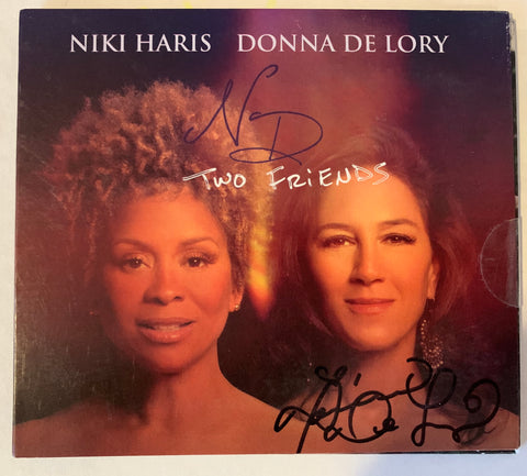 Donna De Lory & Niki Haris - Two Friends (Signed by DONNA) - CD - New