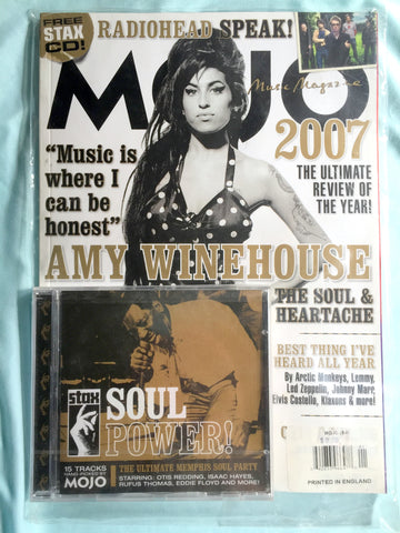 Amy Winehouse - MOJO  Magazine 2008  (Still in plastic)