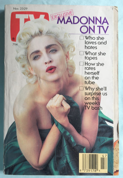 Madonna - 1991 TV Guide Magazine