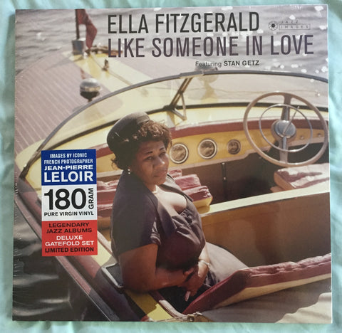 Ella Fitzgerald - Like Someone In Love (Import) Re-issue LP Deluxe VINYL New