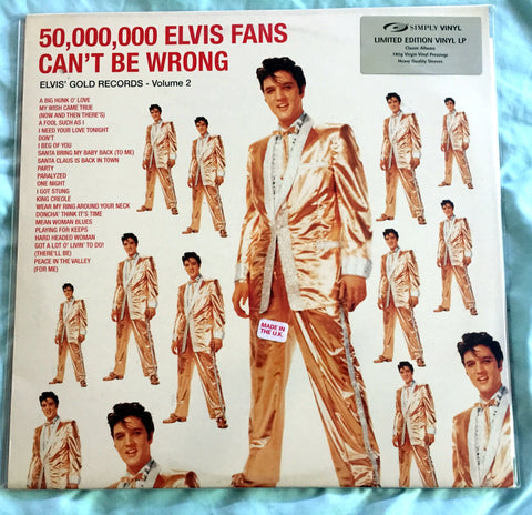 Elvis Presely - 50,000,000 Elvis fans can't be wrong LP VINYL