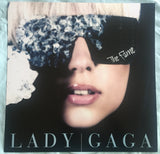 Lady GaGa - Official 12x12 THE FAME Promotional Poster Flat