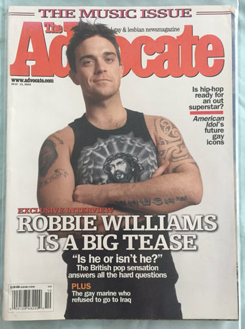 Robbie Williams - The Advocate Magazine 2003
