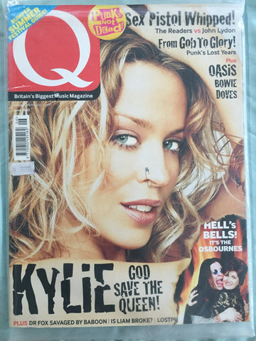 Kylie Minogue- 'Q' Magazine June 2002
