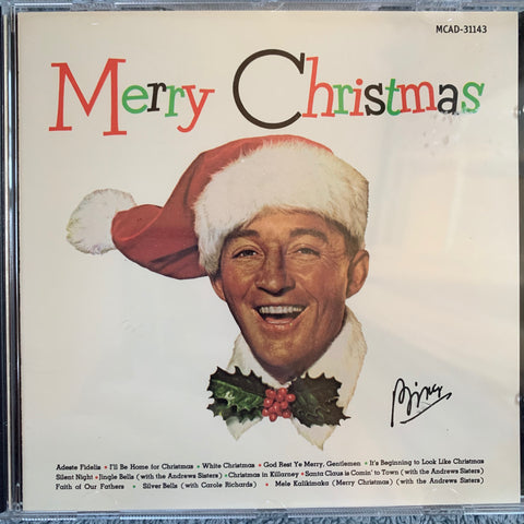Bing Crosby - Merry Christmas - Used CD